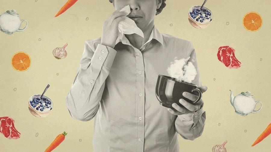 Poder dos Alimentos - gripe