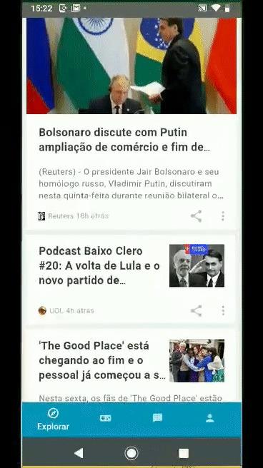 Hello You UOL Motorola - salvando conteúdo