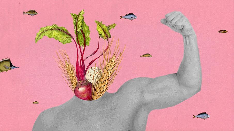 O Poder dos Alimentos - Como ganhar músculos