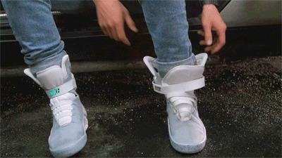 Nike De Volta Para o Futuro