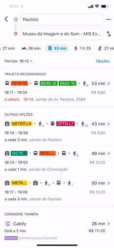 trajeto tempo real google maps gif1