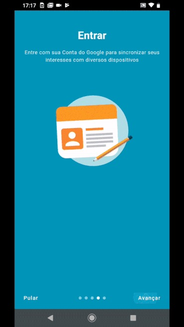 Hello You UOL Motorola - instalando conta no app 2