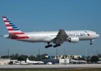 Boeing 777-200 da American em Miami