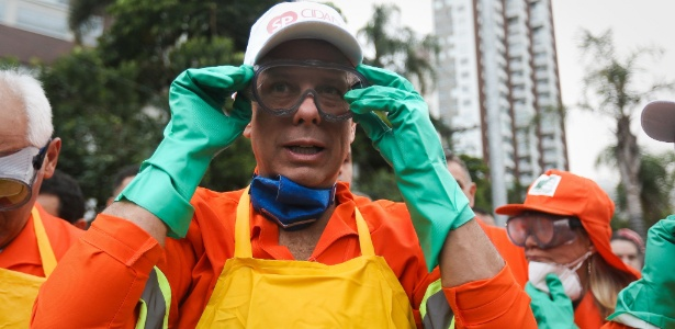 O prefeito paulistano fez mais uma crítica ao ex-presidente da República