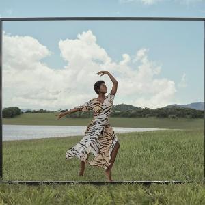 Ingrid Silva na campanha da Animale - Foto: Divulgação