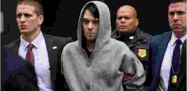 Martin Shkreli é preso nos EUA em dezembro de 2015 - Craig Ruttle/AP Photo - Craig Ruttle/AP Photo