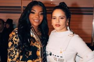 Em Los Angeles, Ludmilla se encontra com Rosalía - Foto: Reprodução/Instagram