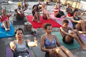 Divulgação/Yoga na Laje