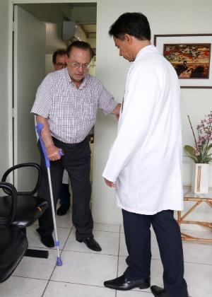 Deputado federal afastado Paulo Maluf (PP-SP) teve volta de câncer revelado ao ser preso em dezembro do ano passado