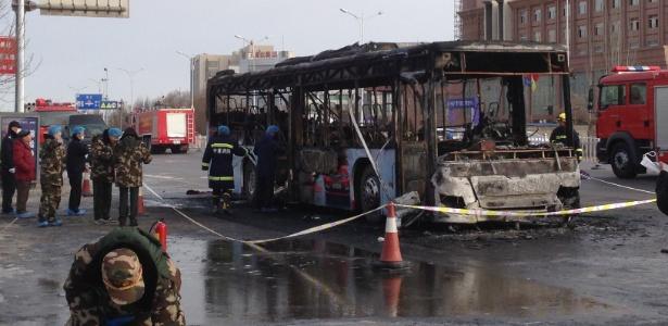 Autoridades ainda averiguam as causas do acidente