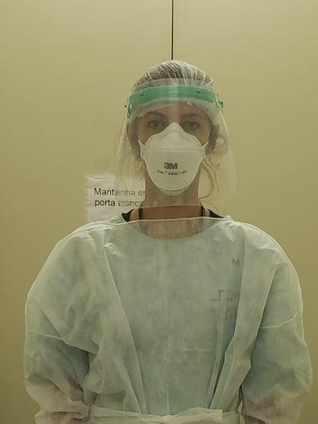 A médica Miriane Garuzi - Arquivo Pessoal