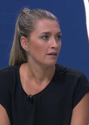 Ana Thaís Matos: jornalista será a primeira mulher a comentar futebol masculino na história da Globo (Reprodução/SporTV)