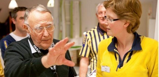 Ingvar Kamprad, fundador da rede Ikea
