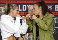 Julia Budd e Cris Cyborg se encaram para o Bellator 238: ESPN Brasil vai exibir evento (Divulgação/Bellator)