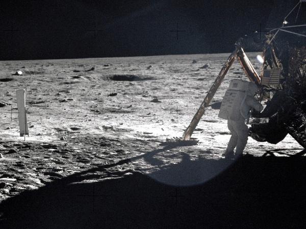 REUTERS/Buzz Aldrin-NASA