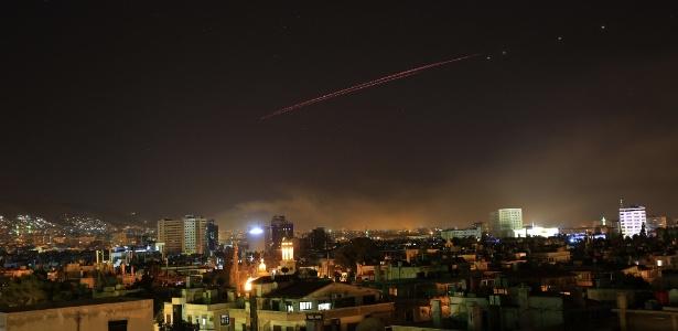 Bombardeios em Damasco, conduzidos por EUA, Reino Unido e França