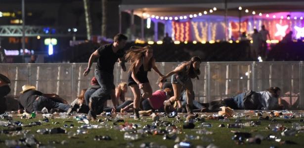 Tiroteio deixou pelo menos 20 pessoas mortas em Las Vegas
