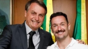 Diego Hypólito causa polêmica na web ao aparecer com Bolsonaro (Reprodução/ instagram)
