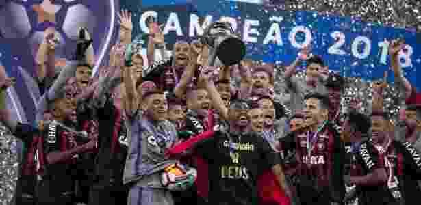 Atlético-PR é o campeão da Copa Sul-Americana, após vitória contra Junior Barranquilla nos pênaltis - Liamara Polli/Photo Premium/Folhapress