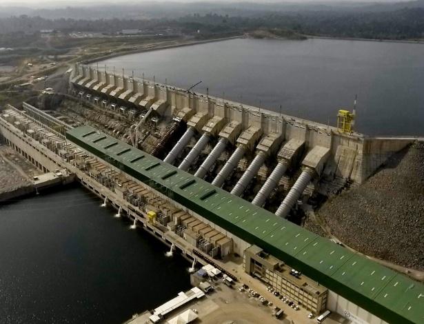 Usina Hidrelétrica de Belo Monte, no Pará, foi inaugurada em 2016