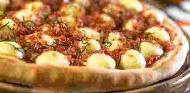 Pizza rosmarino - Divulgação - Divulgação