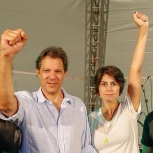 Segundo a presidente do PT, Haddad e Manuela vão sair pelo Brasil em campanha já nesta semana