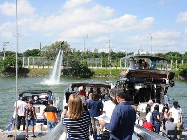 Reprodução Redes Sociais/São Paulo Boat Show