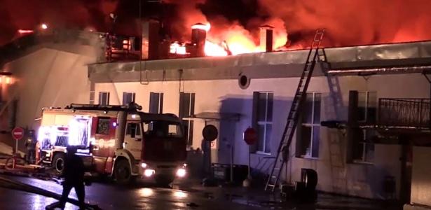 Corpos foram encontrados depois de o incêndio ser controlado