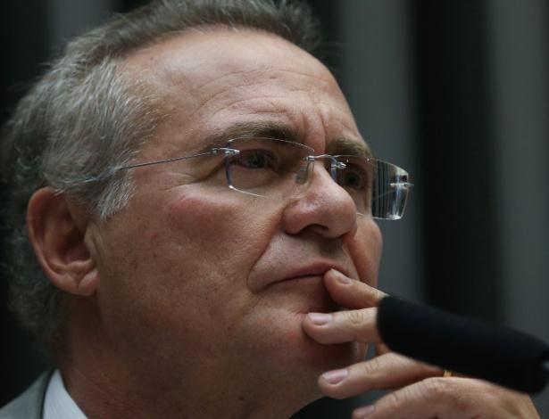 Presidente do Senado, Renan Calheiros (PMDB-AL)