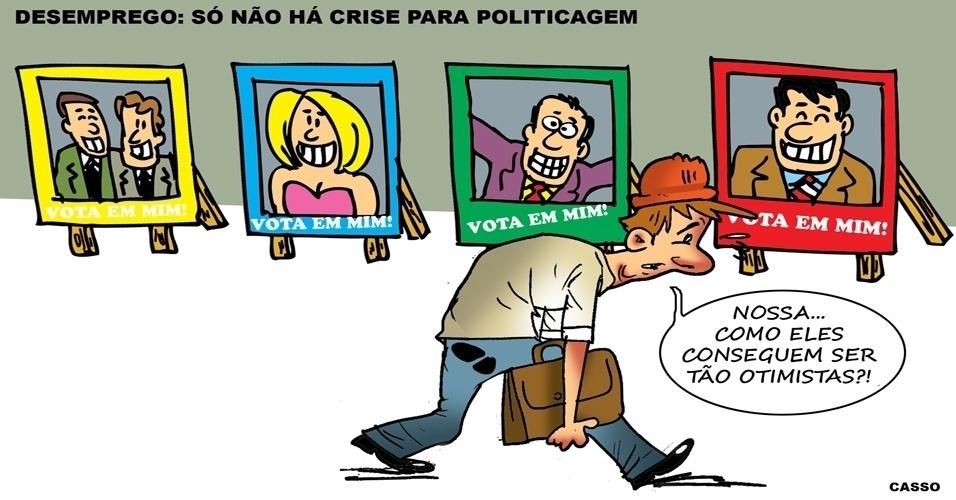 13.set.2016 - A crise pegou quase todos no Brasil - menos a politicagem