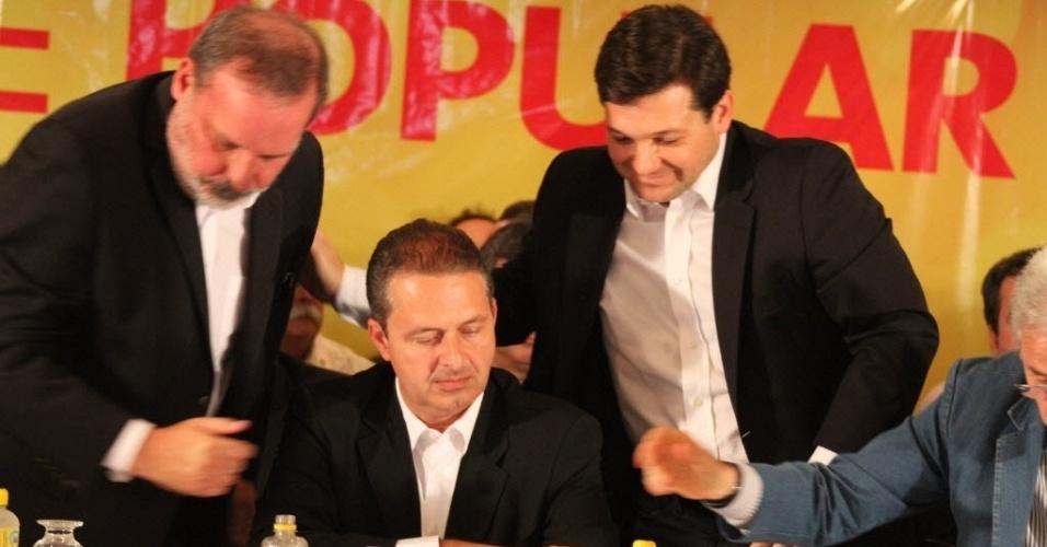 Geraldo Julio e Eduardo Campos -  28-06-2012