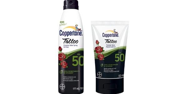 Coppertone Lança No Brasil Protetor Solar Para Tatuagem 22