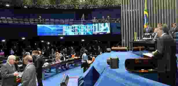Com as galerias vazias, senadores debatem e votam PEC do Teto dos Gastos Públicos - Waldemir Barreto/Agência Senado