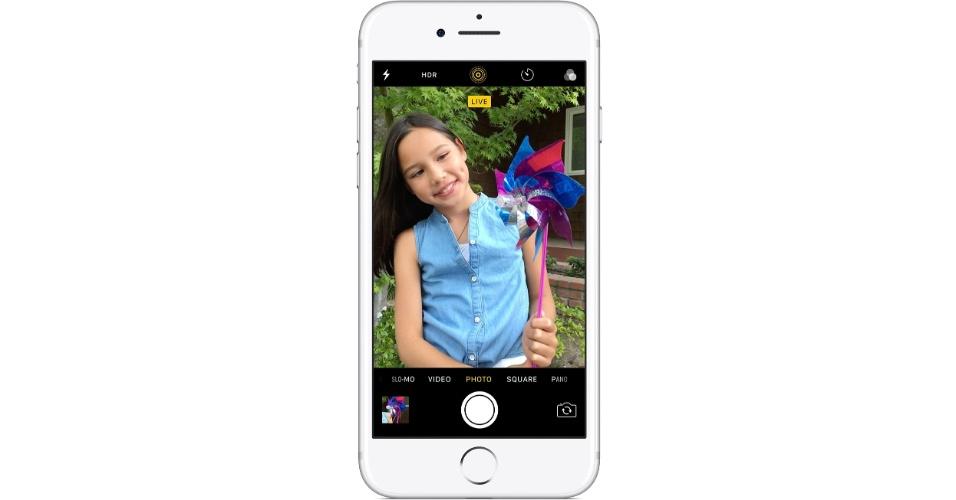Live Photo é recurso que surgiu a partir do iPhone 6S
