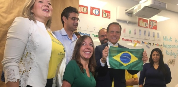 Doria votou em colégio no Jardins, em São Paulo