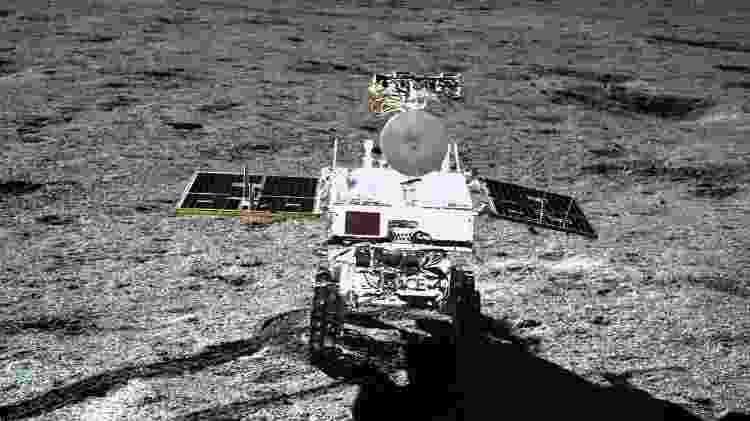 "Sonda chinesa ""Change 4"" pousou no lado oculto da Lua  - AFP"