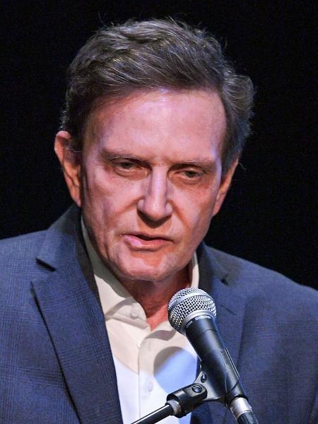 O prefeito do Rio de Janeiro, Marcelo Crivella (Republicanos) - Carl de Souza/AFP