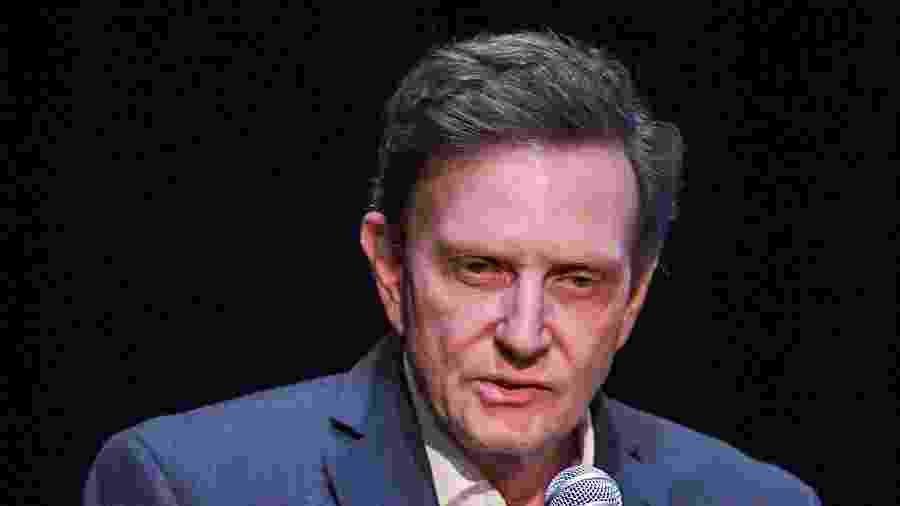 O prefeito do Rio, Marcelo Crivella, é alvo de um processo de impeachment - Carl de Souza/AFP