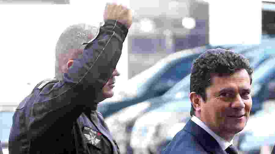 Sergio Moro em visita à sede da Superintendência da Polícia Federal no Rio - Wilton Junior/Estadão Conteúdo-26.ago.2019