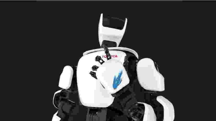 Robô humanoide da Toyota, o T-HR3 - Divulgação