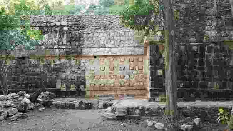 Acredita-se que o palácio teria sido usado durante dois períodos da história Maia - Reuters