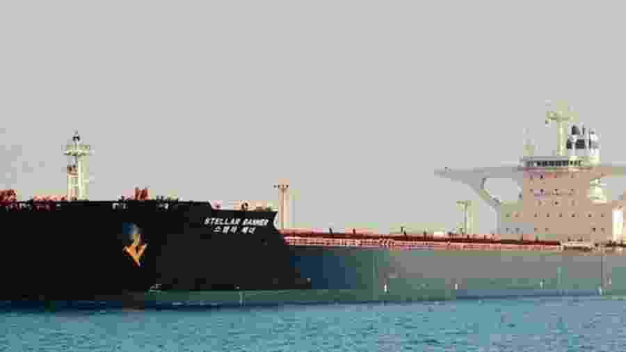 Ibama identifica óleo próximo a navio  MV Stella Banner, encalhado na costa do Maranhão - Divulgacao