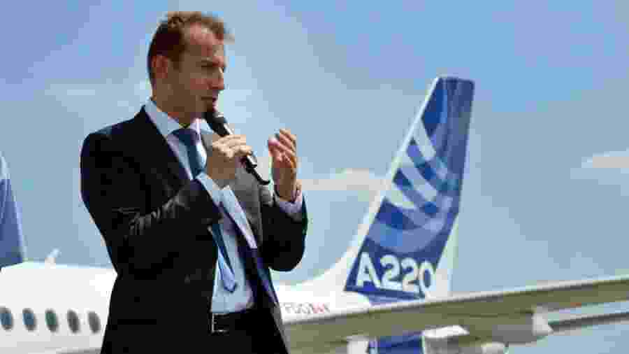 """""""A Airbus está enfrentando a crise mais grave que esse setor já passou"""", destaca o CEO Guillaume Faury - Sebastian Kunigkeit/picture alliance via Getty Images"""