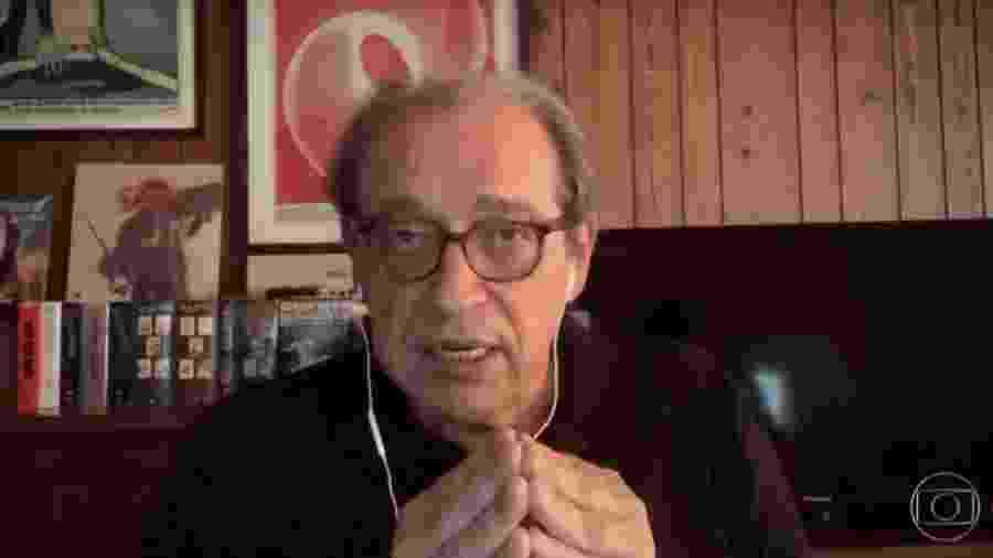 Ruy Castro no Conversa com Bial - Reprodução/vídeo