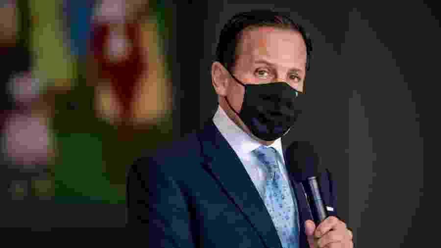 """João Doria (PSDB) disse que PSDB não precisa """"necessariamente"""" liderar frente nas eleições de 2022 - ANTONIO MOLINA/ZIMEL PRESS/ESTADÃO CONTEÚDO"""