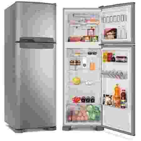 Refrigerador Continental Duplex Frost Free 370L Prata 220V TC41S - Divulgação - Divulgação