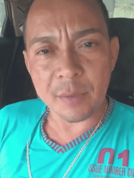 O vereador do município de Curuçá, nordeste do Pará, Daniel Rabelo Silva, o Daniel do Abade (MDB) - Reprodução/Redes sociais