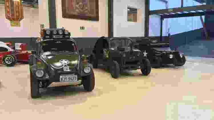Garagem Fusca militar - Rodrigo Mora / UOL - Rodrigo Mora / UOL