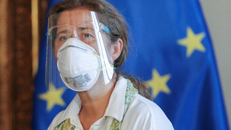 Embaixadora da União Europeia na Venezuela, Isabel Brilhante Pedrosa - REUTERS/Manaure Quintero