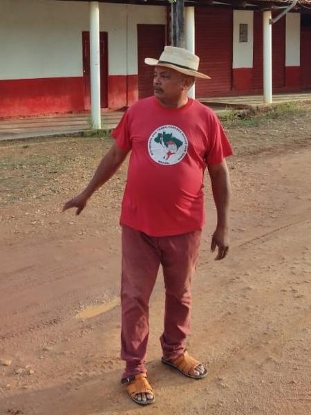 Raimundo dos Santos Gouveia, sobrevivente da chacina em Eldorado do Carajás (PA) - Arquivo pessoal